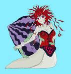 Maki the Trematode-infected Snail Monster Girl