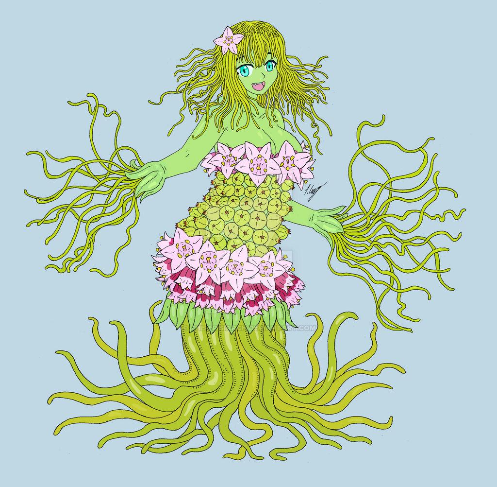 Cassandra the Dodder Monster Girl