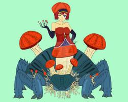 Ophelia the Cordyceps Fungus Monster Girl