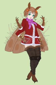 Akane the Cordyceps-infected Moth Girl
