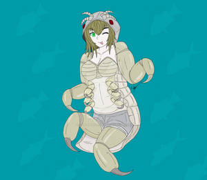 Cynthia the Cymothoid Monster Girl