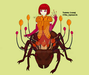 Ophelia the Ophiocordyceps Monster Girl