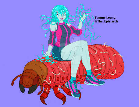 Epona the Entomopathogenic Nematode Monster Girl