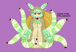 Luci the Leucochloridium Monster Girl