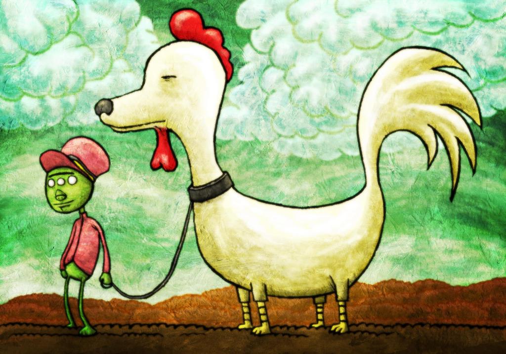 chicken dog by avid on deviantart With avid dog