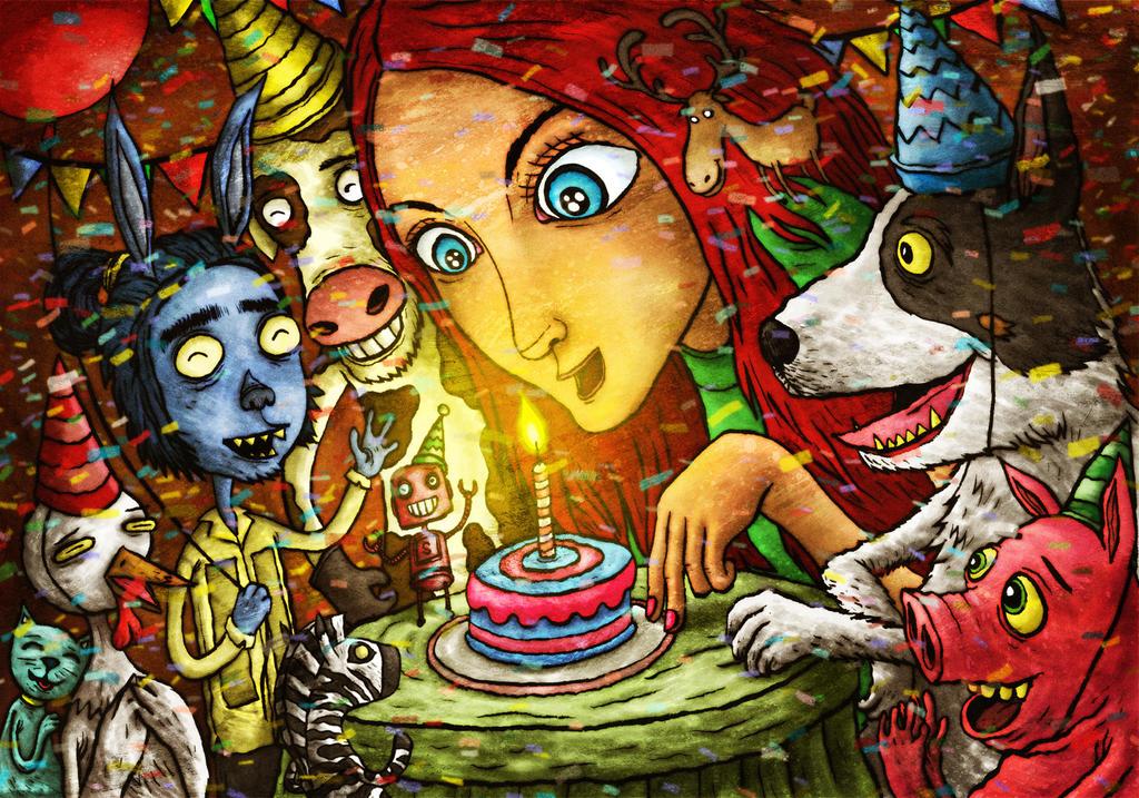 Happy Birthday Red By Avid On Deviantart