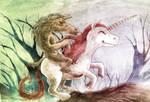 Tikbalang on a Unicorn