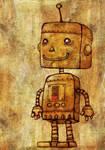 Robot Smiles Despite Low Batt