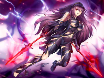 |CM| Scathach by GigaMessy