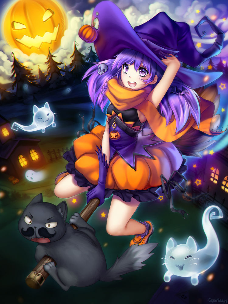 GigaMessy Halloween