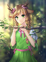 Fawn [sketch gift - 9/15] by GigaMessy