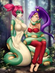  CM  Shantae and Tuki