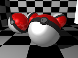 Pokeballs by Kelsi-sama