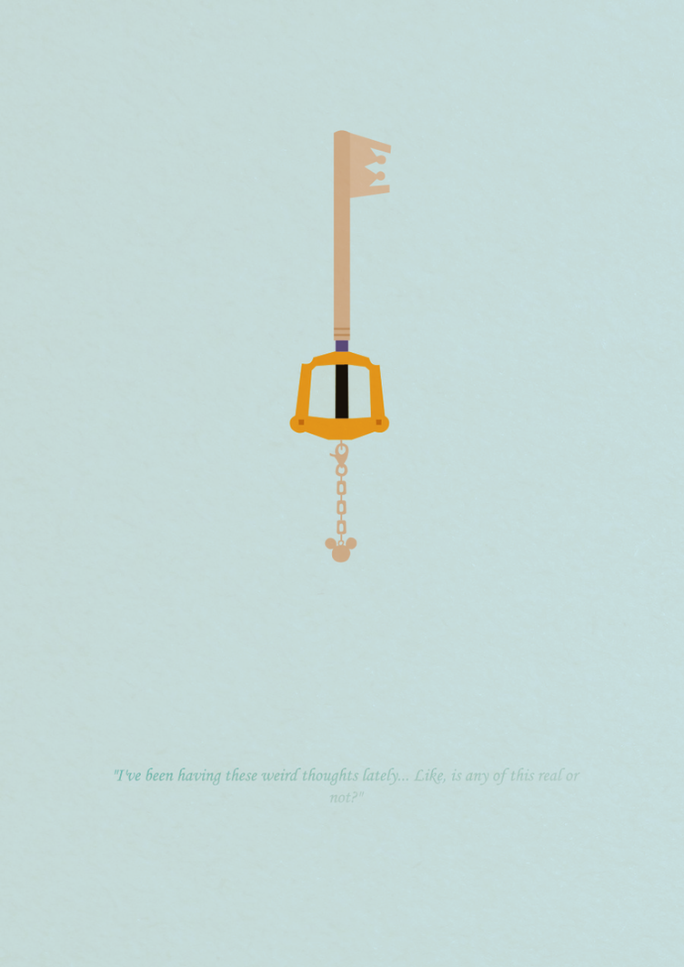Kingdom hearts iphone wallpaper tumblr - Kingdom Hearts Poster By Kelsi Sama