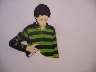 Art Defines Us Stencil by earwig20