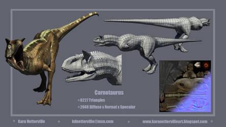 Carnotaurus Sheet by Hatuibwari