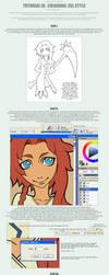 tutorial III . coloring - cel by painterlove