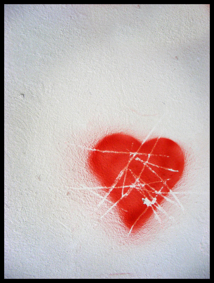 Graffiti Heart Heart graffiti by mirceadrian