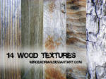 14 Wood Textures by MirceAdrian