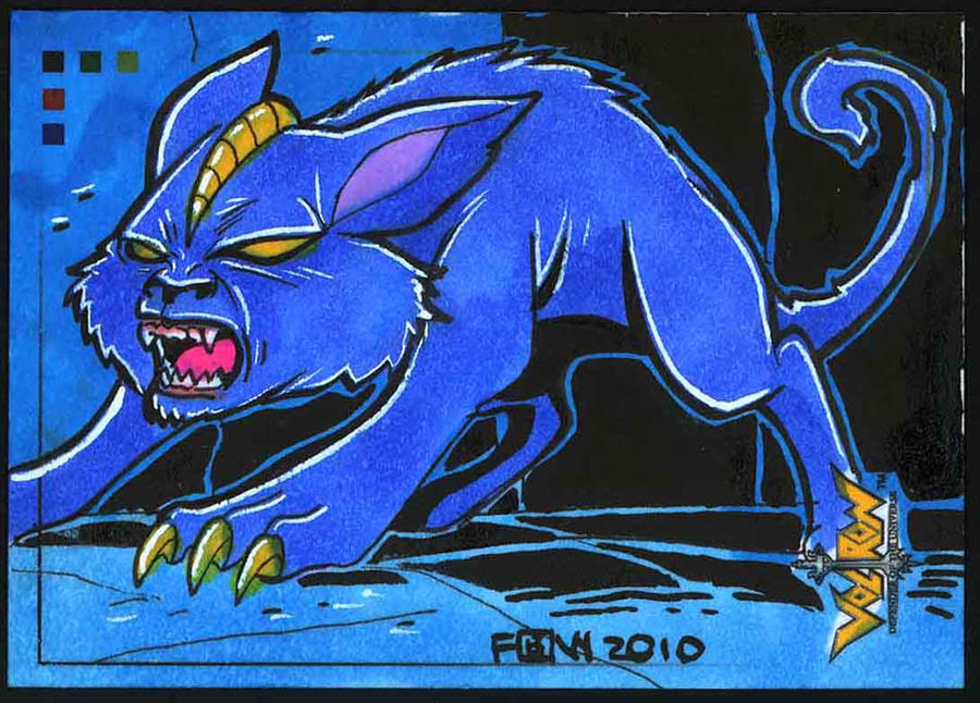 5FINITY : Voltron The Blue Cat by fbwash