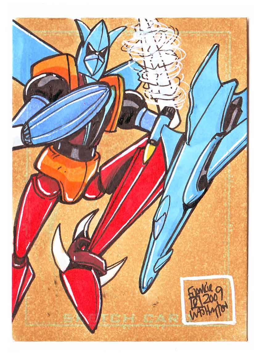 Star Arrow Sketch Card by fbwash