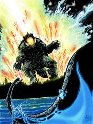 GAMERA UNLEASHED Color by fbwash