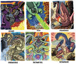Colossal Kaiju Combat Trading Card Sample 3