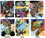 Colossal Kaiju Combat Trading Card Sample 4