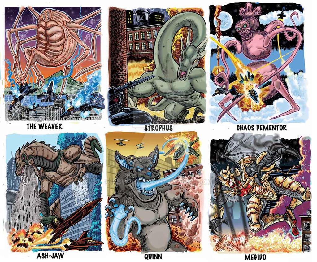 Colossal Kaiju Combat Trading Card Sample 8 by fbwash