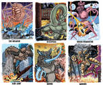 Colossal Kaiju Combat Trading Card Sample 8