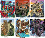 Colossal Kaiju Combat SPN 2 Trading Card Samples 7