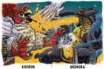 KiKiron vs Urogora PuzzleCard
