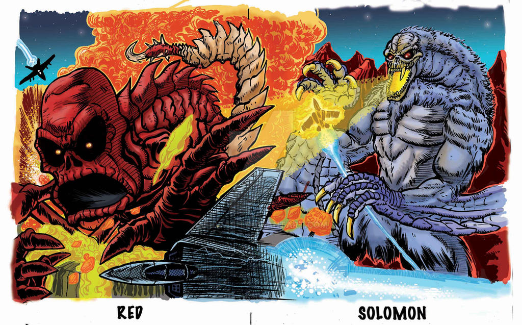 Red vs Solomon Puzzle Card by fbwash