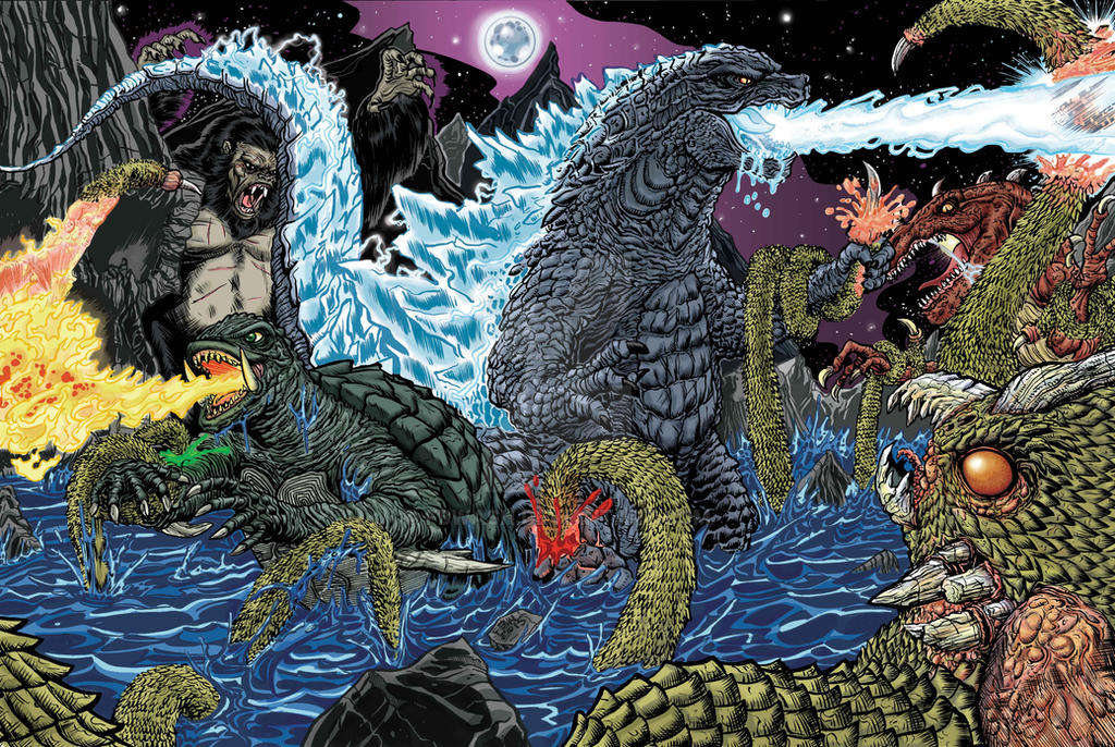 Battle For Skull Island by fbwash