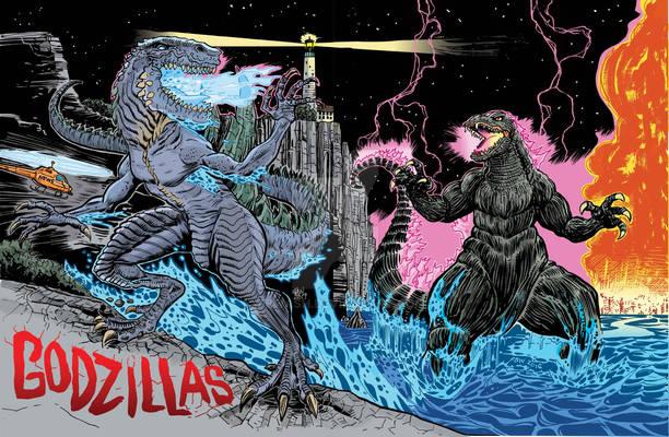 Godzillas Art Piece