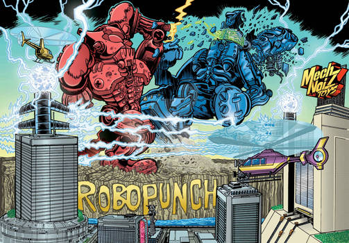 2020 RoboPunch Title Card Art