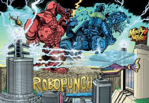 2020 RoboPunch Title Card Art
