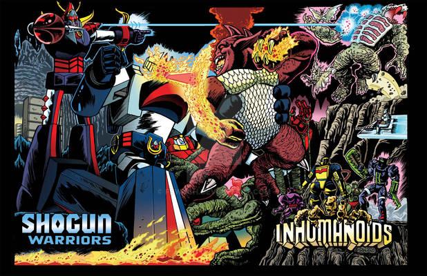 Shoguns vs Inhumanoids