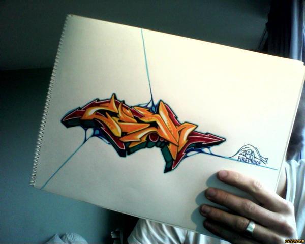 ZESK fireproof by Graffitiminded