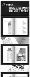 40 pages minimal magazine template by duemilacentododici