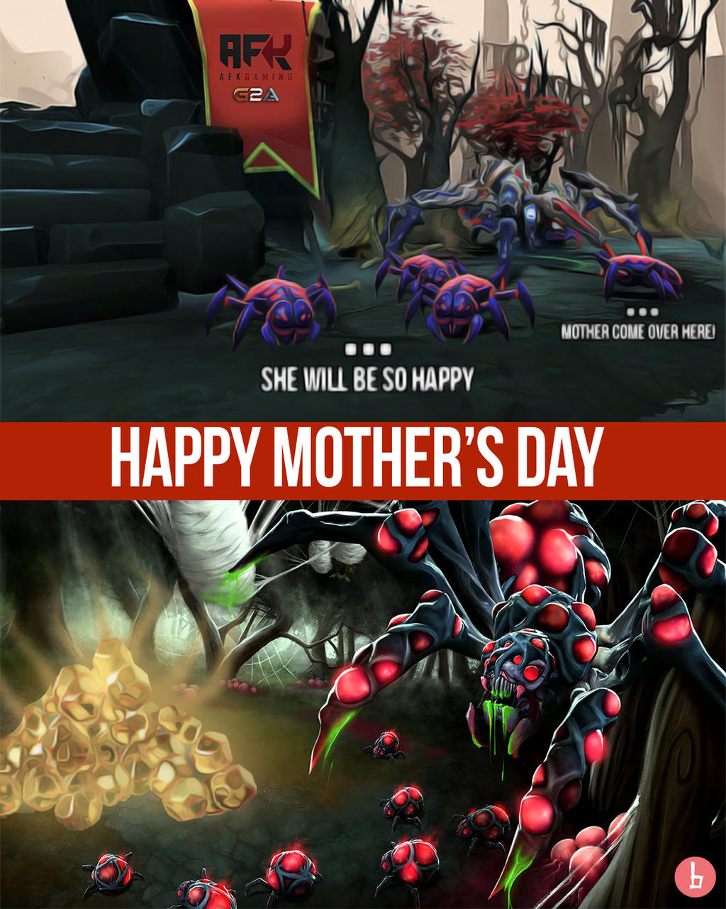 happy mother s day dota 2 broodmother by bazzingadoto on deviantart
