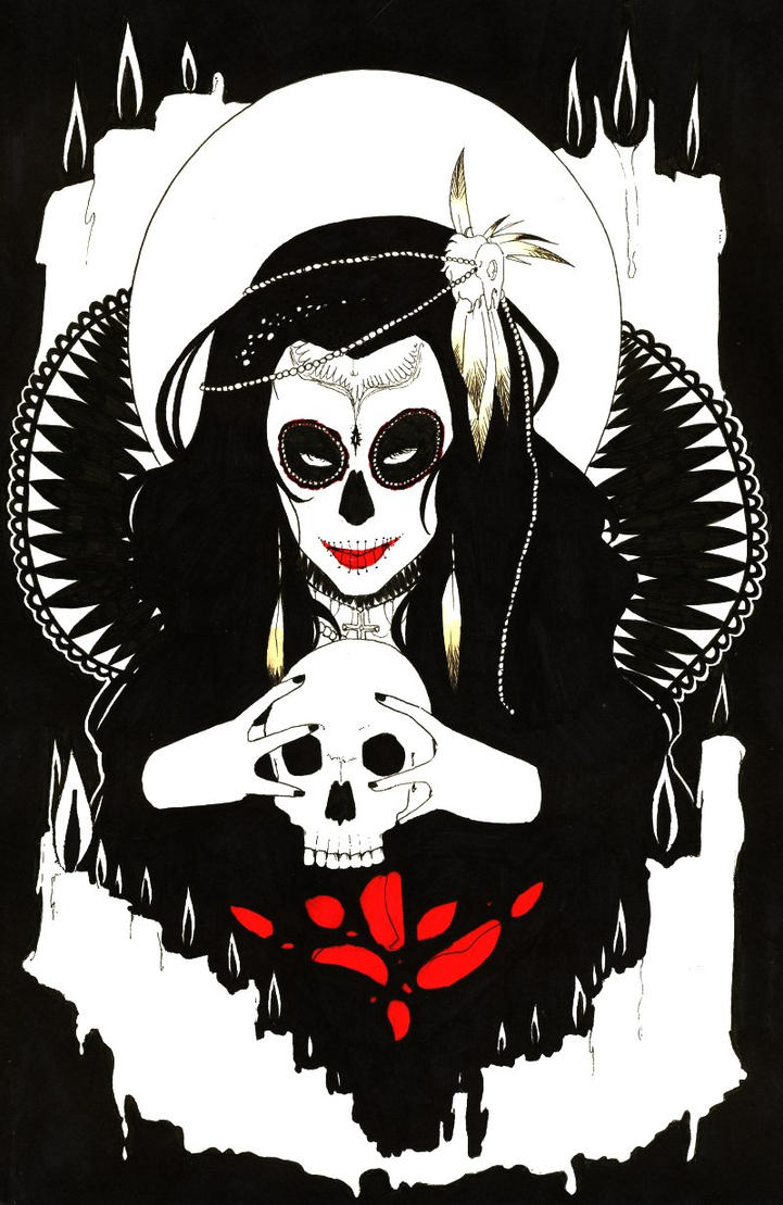 Voodoo Woman by suburbian-kat
