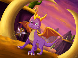 AT: Spyro the Dragon by Lauzi