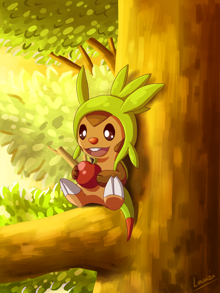 Chespin by Lauzi
