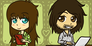 Chibi Icons for me and my Boyfriend