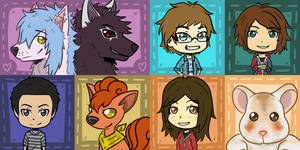 Chibi Icon Requests - September 2013 Compilation