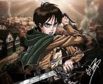 Attack on Titan : Eren Yaeger (Jaeger)