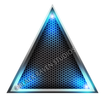 Blue Light Triangle