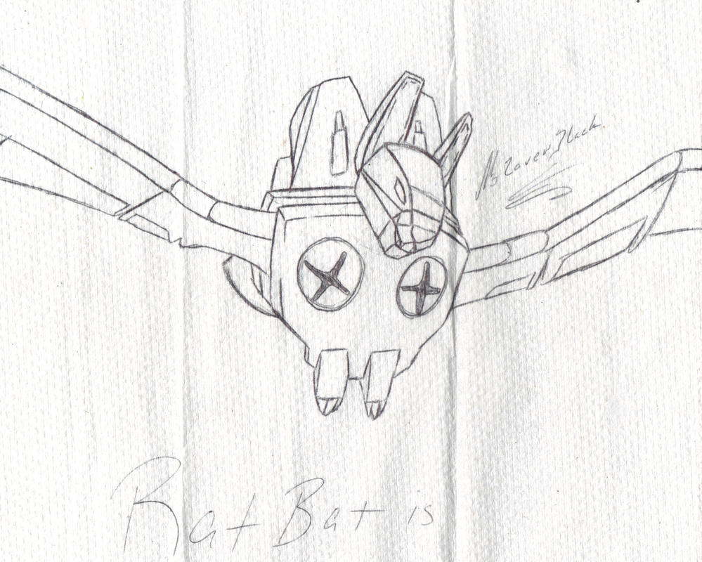 Bat mech Ratbat by G1-Ratbat