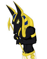 My brother Anubis by G1-Ratbat